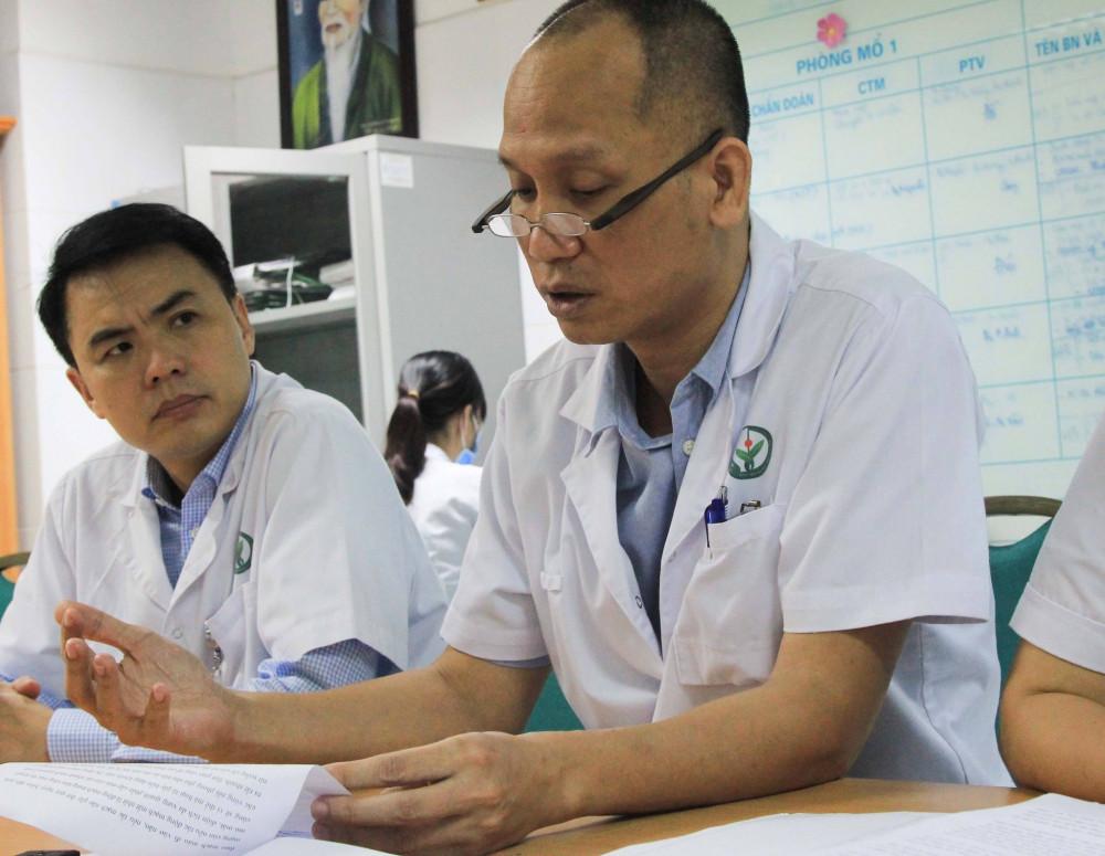 PGS.BS Nguyễn Hồng Hà thông tin về ca bệnh đặc biệt, suýt mù vĩnh viễn sau khi tiêm filler