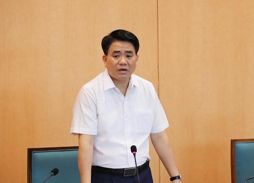 Ông Nguyễn Đức Chung hiện đang bị tạm giam.