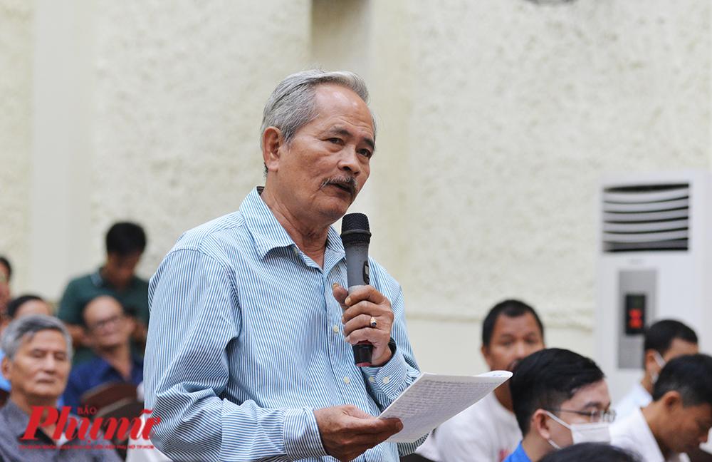 Cử tri Lê Thanh Tùng, quận 9