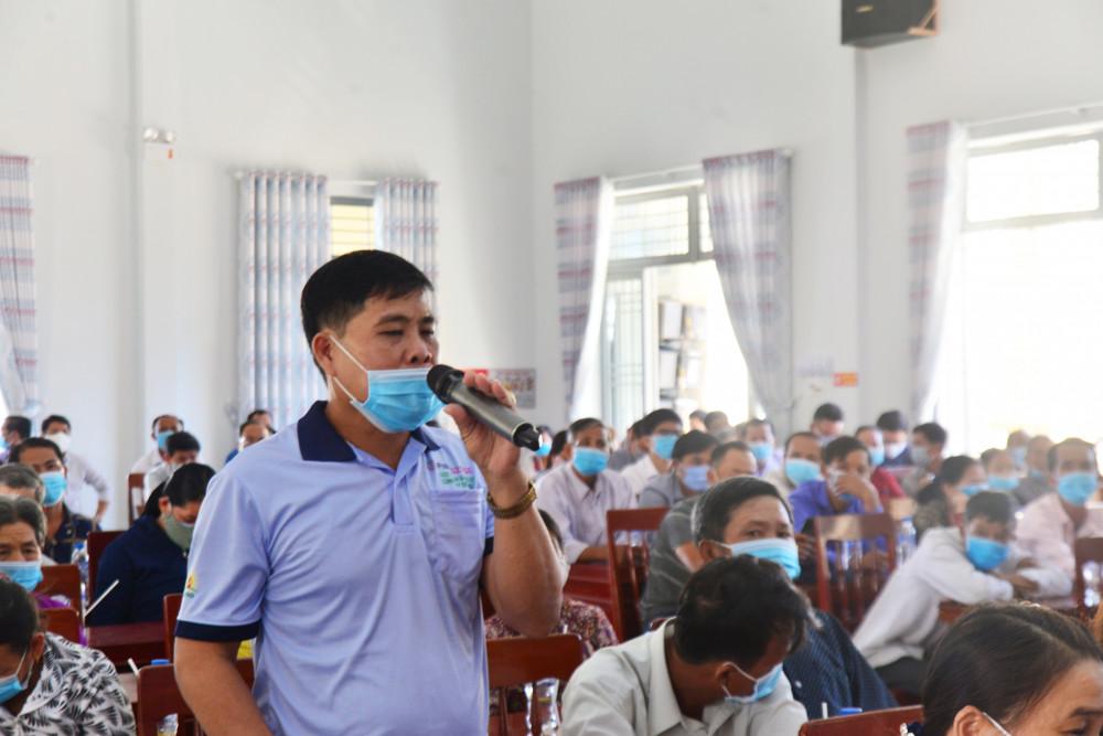 Người dân nhiều lần đối thoại với chính quyền tỉnh Quảng Ngãi để đi đến đồng thuận