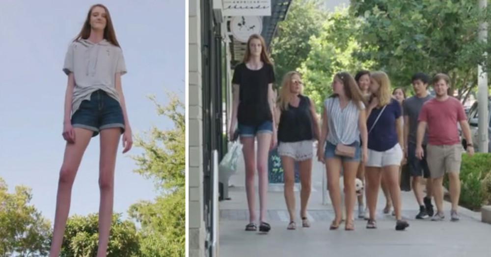 Cô bé đang nuôi mộng trở thành người mẫu trong tương lai - Ảnh: Guinness World Records