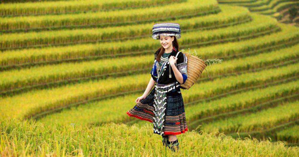 Hoa khôi Khánh Ngân từng làm đại sứ cho nhiều lễ hội trong 3 năm qua