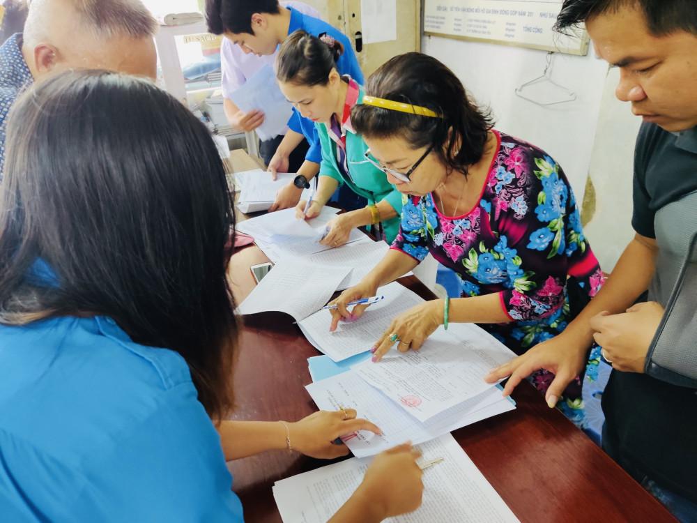 Người dân thuộc 54 phường liên quan sáp nhập đã được lấy ý kiến