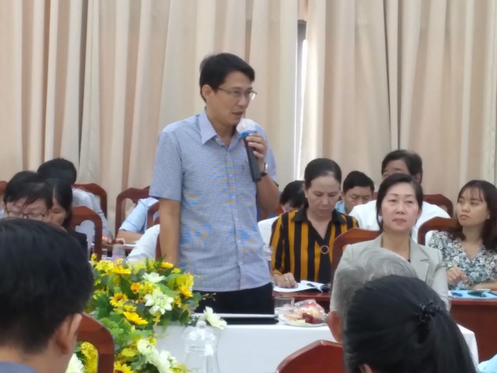 Ông Phạm Hoàng Tân lý giải sự cần thiết của đề án