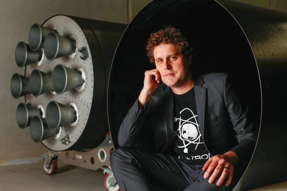 CEO Peter Beck của Rocket Lab