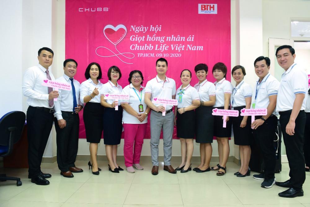 Ngày hội hiến máu là chuỗi sự kiện ý nghĩa đón chào cột mốc 15 năm Chubb Life thành lập và hoạt động kinh doanh tại Việt Nam. Ảnh: Chubb Life cung cấp