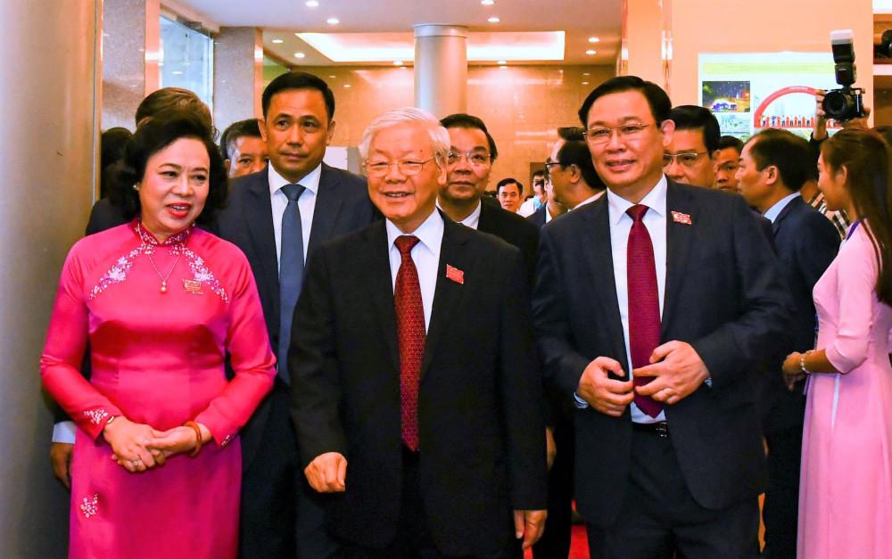 Tổng Bí thư, Chủ tịch nước Nguyễn Phú Trọng tham dự, chỉ đạo tại Đại hội.