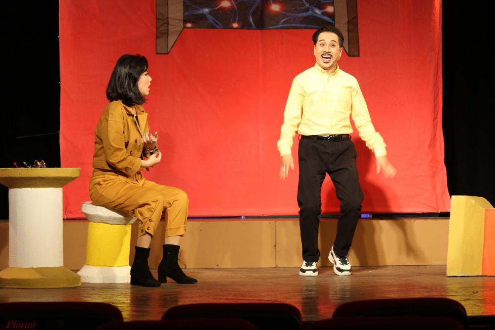 Sự phối hợp ăn ý và đầy ắp tiếng cười giữa NSƯT Thành Lộc và Lê Khánh