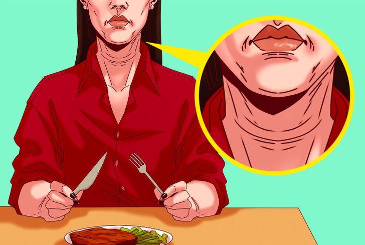 Có một nghiên cứu của Hà Lan cho thấy phụ nữ ăn thịt đỏ có xu hướng có nhiều nếp nhăn hơn. Hơn nữa, nấu thịt và mỡ ở nhiệt độ cao, khô có thể dẫn đến bệnh tiểu đường. Nhưng có thể ngăn ngừa điều này nếu bạn ăn ít thịt hơn và chọn súp và món hầm thay vì nướng. Ngoài ra, hãy cố gắng dùng nhiều trái cây hơn trong bữa ăn của bạn.