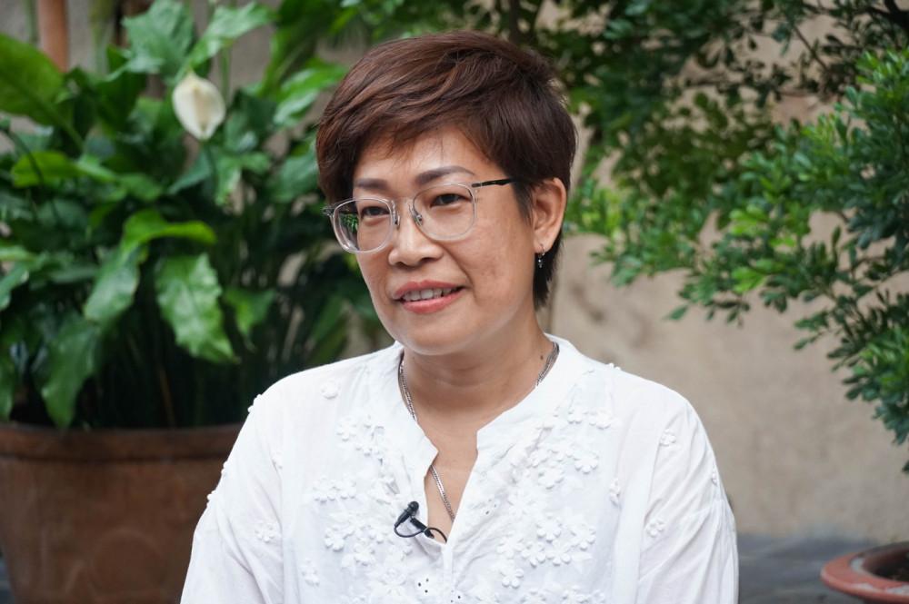 Chị Lương Ngọc Vân Anh. Ảnh: THP cung cấp