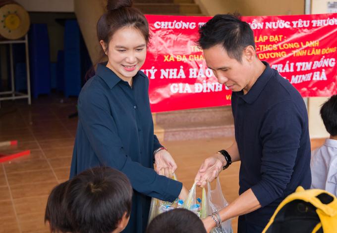 Vợ chồng ca sĩ Lý Hải, Minh Hà hiện cũng quyên góp được hơn 2 tỷ đồng