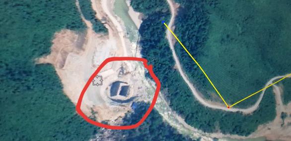 Vị trí thủy điện Rào Trăng 3, ảnh được chụp qua Google Map