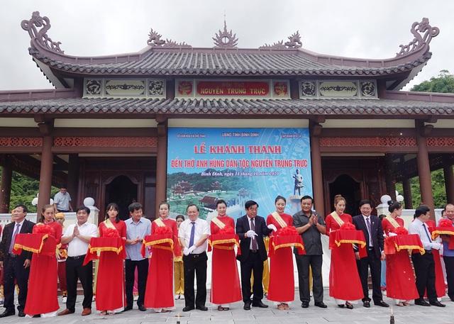 Khu đền thờ Nguyễn Trung Trực vừa được khánh thành tại Bình Định