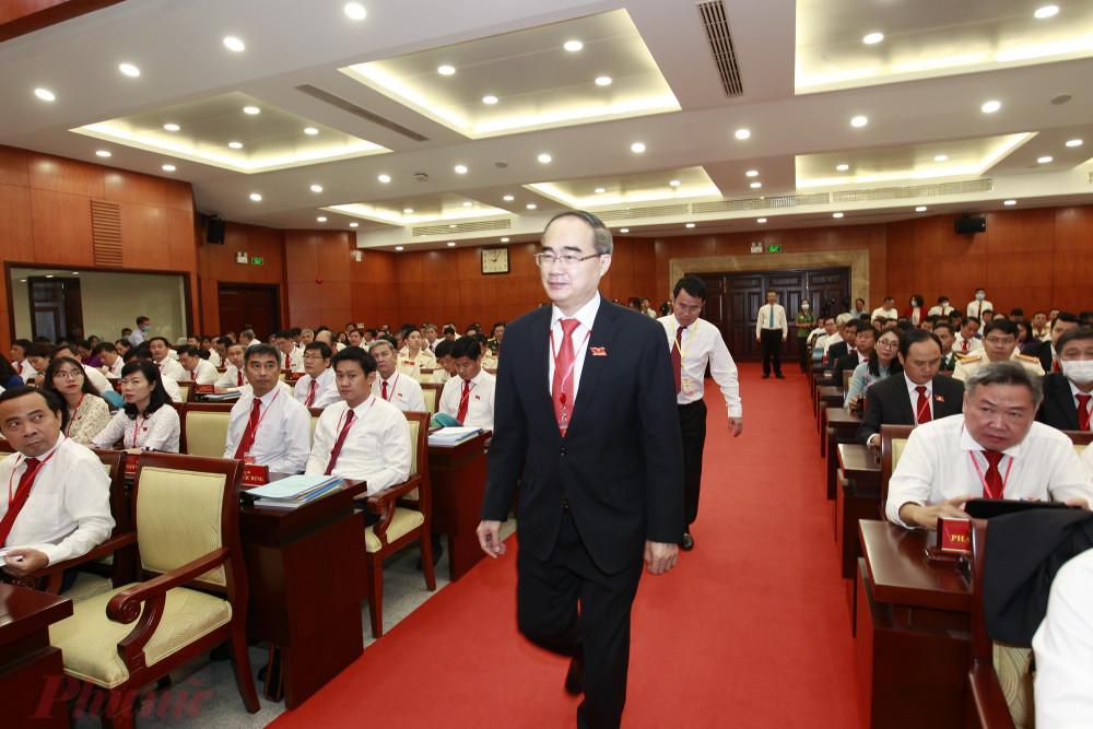 Đồng chí Nguyễn Thiện Nhân - Ủy viên Bộ Chính trị, Bí thư Thành ủy TPHCM