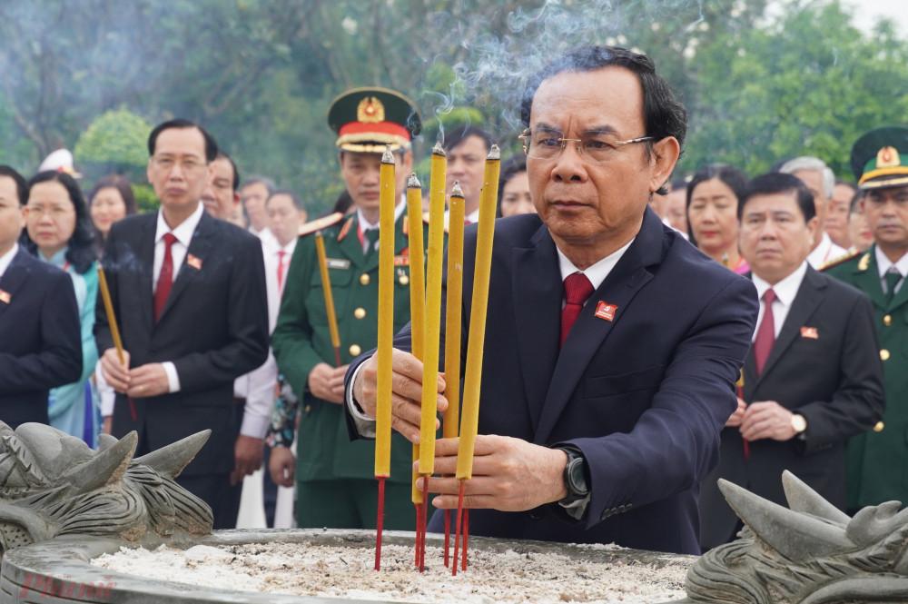 Đồng chí Nguyễn Văn Nên - Bí thư Trung ương Đảng