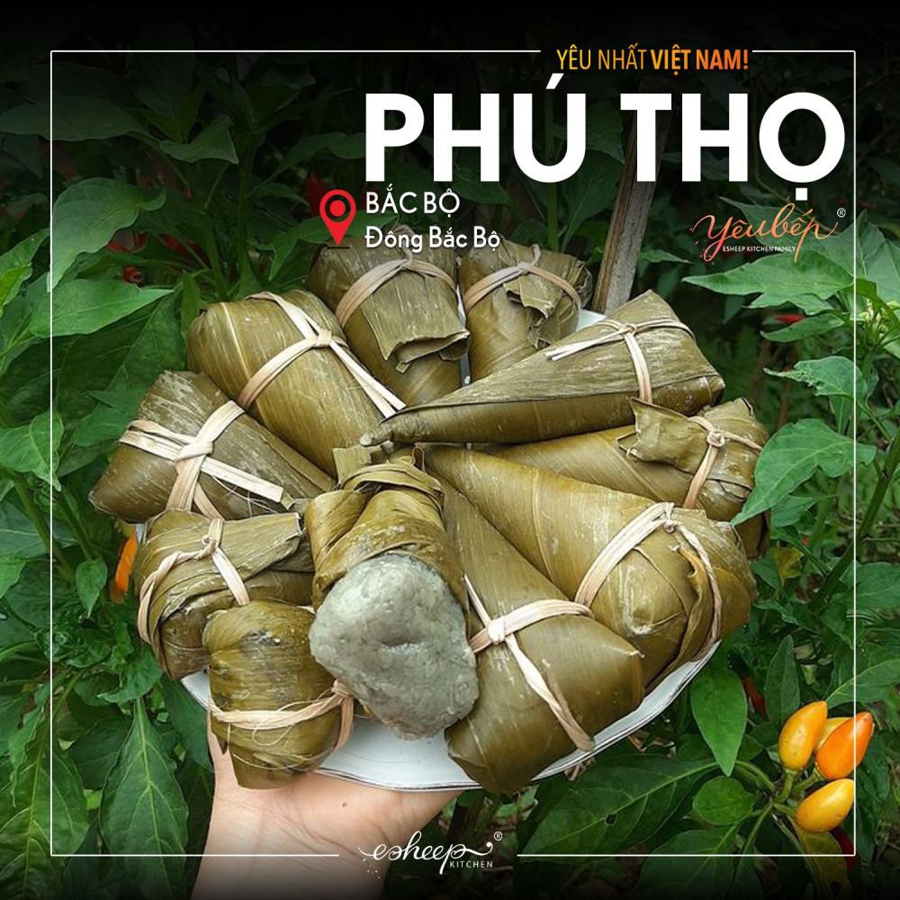 Bánh Gùn Phú Thọ - một cái tên bánh rất lạ tai.
