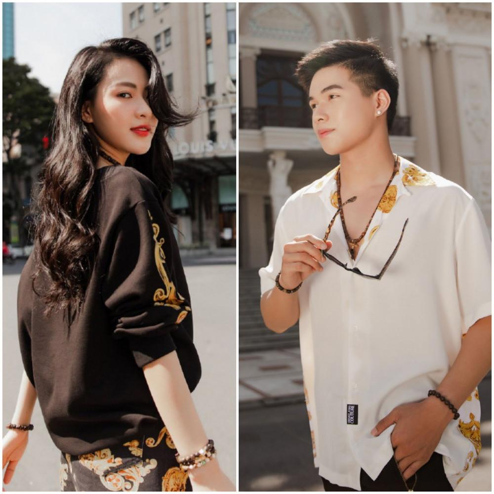 Nếu như Minh Trang mang vẻ gợi cảm, sắc sảo thì Kha Vũ lại gây ấn tượng bởi vẻ đẹp nam tính và mạnh mẽ.