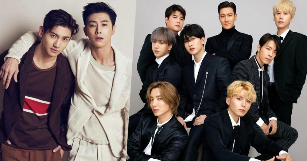 TVXQ và Super Junior bền bỉ hoạt động sau hơn 15 năm ra mắt.