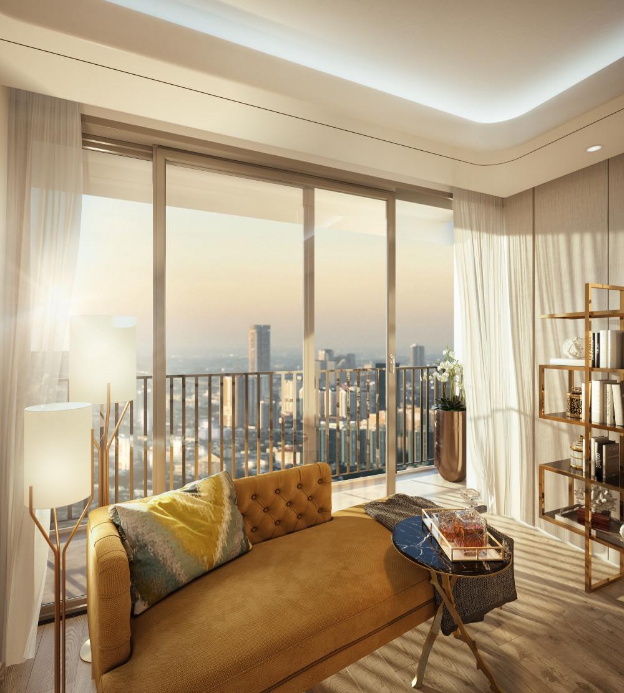 Căn hộ 3 phòng ngủ với diện tích lớn có thể dễ dàng cải tạo không gian cho những công năng mới