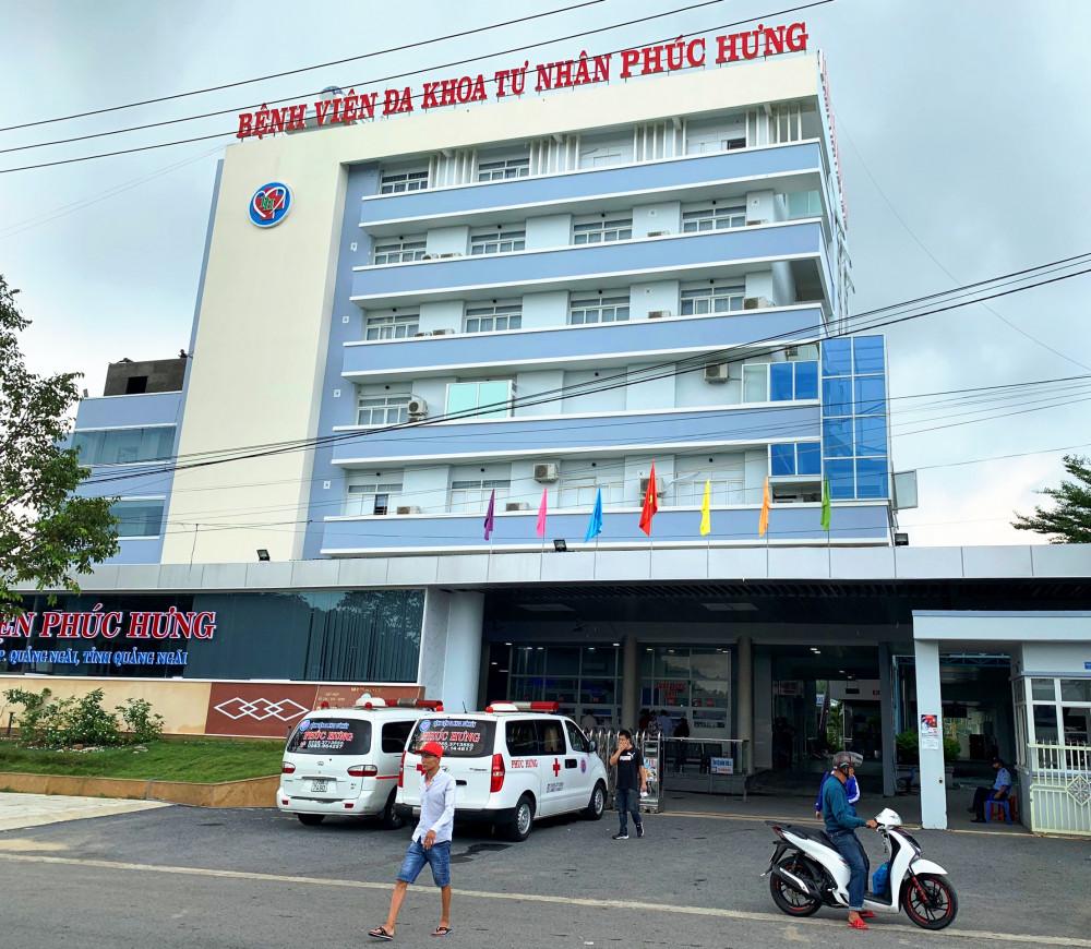 Bệnh viện đa khoa tư nhân Phúc Hưng nơi sản phụ Duyên đến sinh con