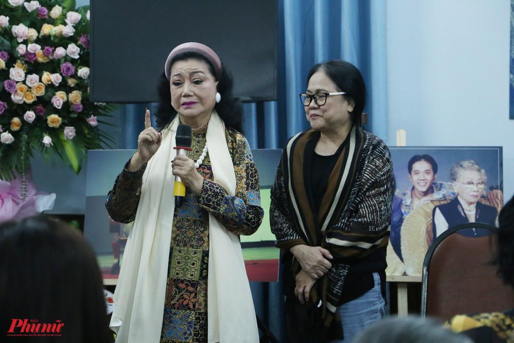 Nghệ sĩ Ái Như hạnh phúc khi được làm lại kịch bản Bông hồng cài áo trên sân khấu Hoàng Thái Thanh vào năm 2019