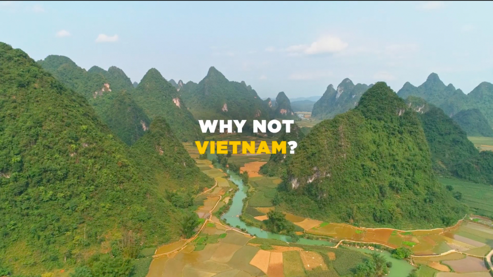 Đoạn clip quảng bá du lịch Việt Nam 30 giây trên kênh CNN kéo dài 6 tháng kể từ 15/10. (Ảnh chụp màn hình_