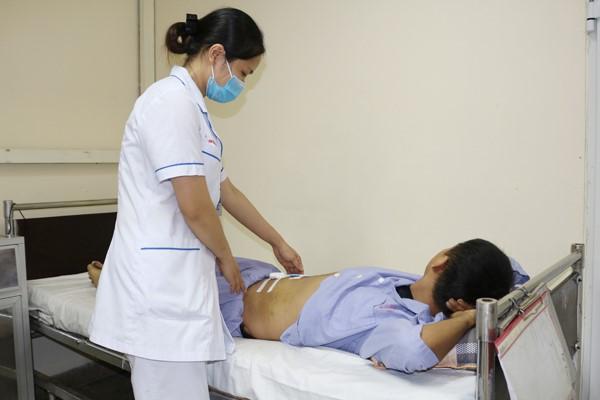 Sau điều trị sức khoẻ người bệnh ổn định.