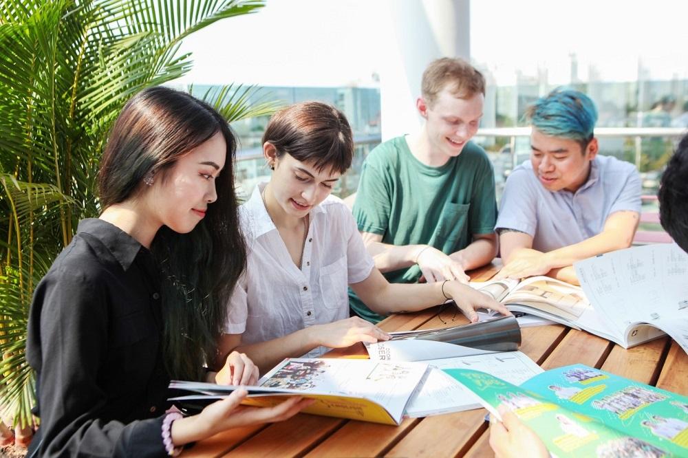 Sinh viên nước ngoài đang theo học tại ĐH Tôn Đức Thắng