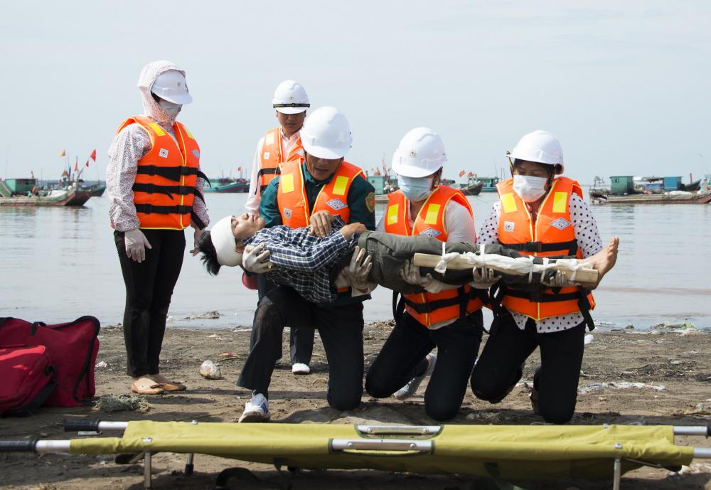 Một số hình ảnh của dự án USAID tại Việt Nam.