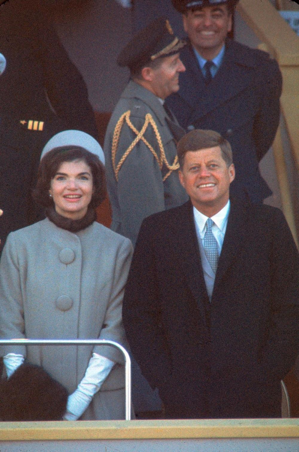 Vợ chồng tổng thống Jack Kennedy