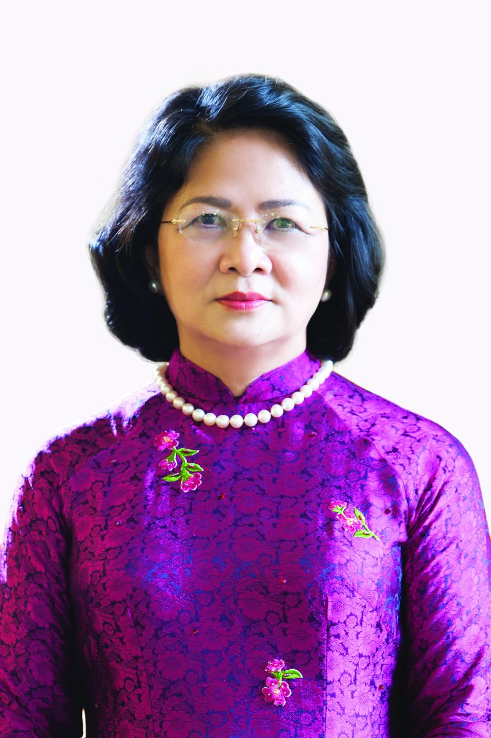 Bà Đặng Thị Ngọc Thịnh Ủy viên Trung ương Đảng, Phó chủ tịch nước Cộng hòa Xã hội Chủ nghĩa Việt Nam