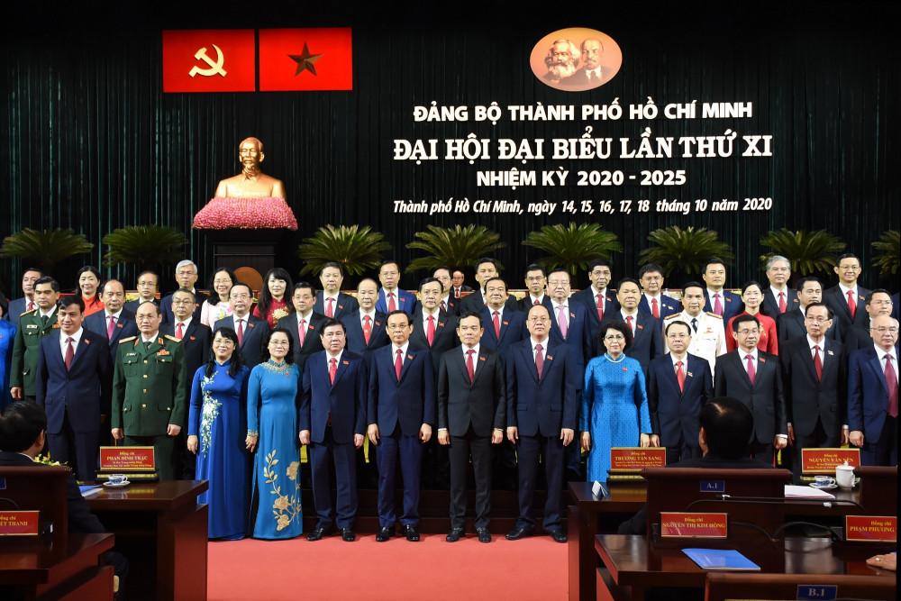 Ra mắt Ban Chấp hành Đảng bộ TPHCM khóa XI