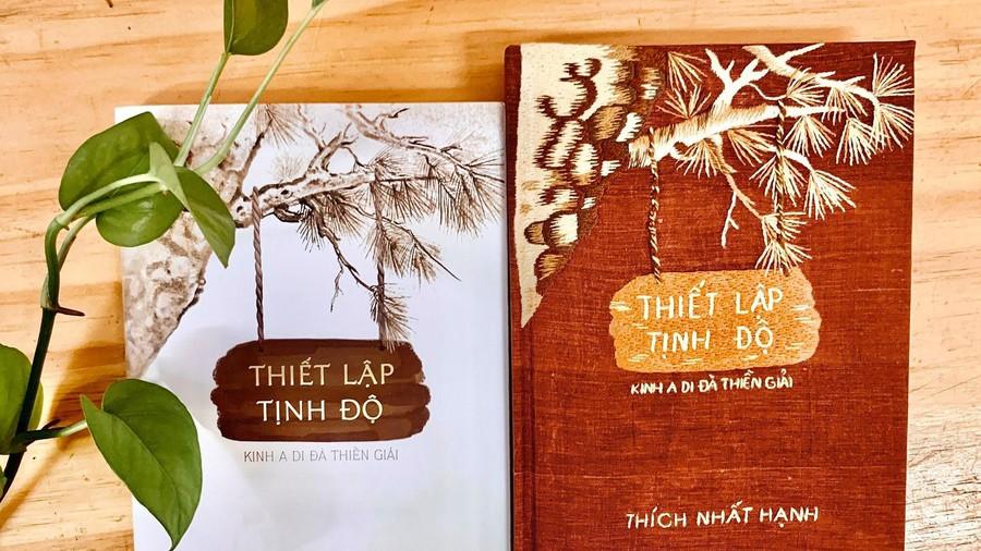 Cuộc đấu giá của NXB Thái Hà với cuốn Thiết lập tịnh độ vẫn đang diễn ra trên fanpage của NXB.