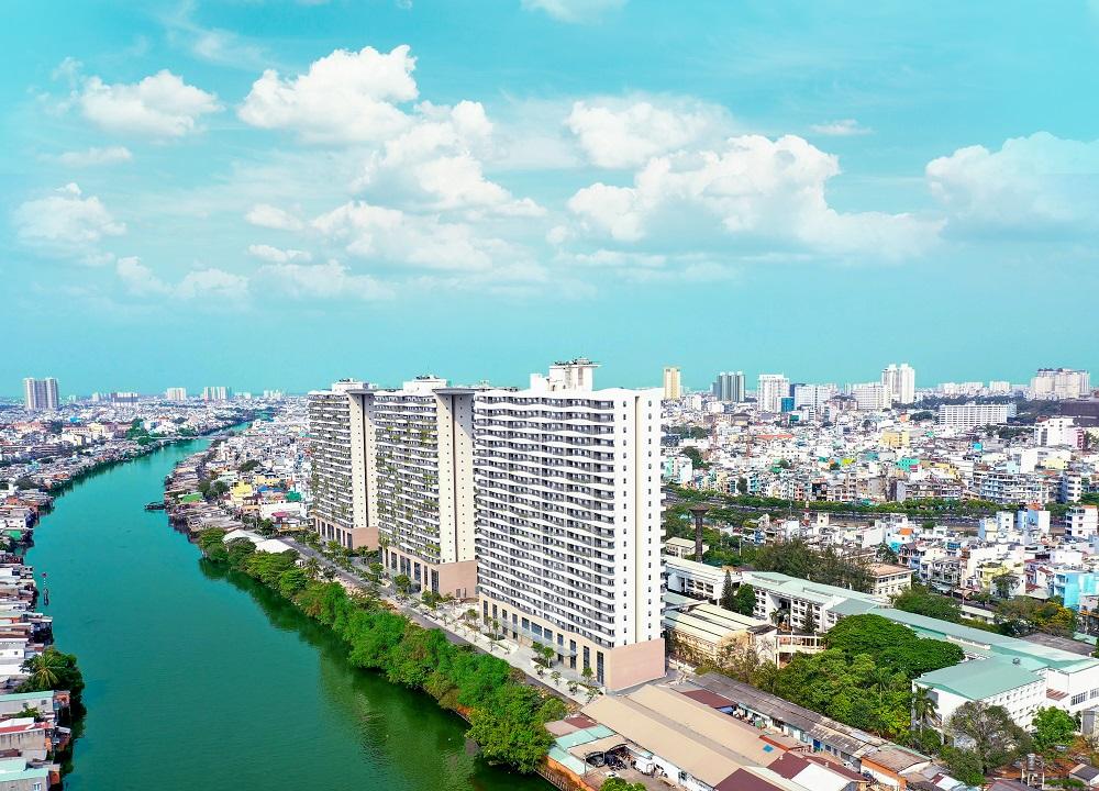 Chuỗi căn hộ xanh Diamond Lotus Riverside