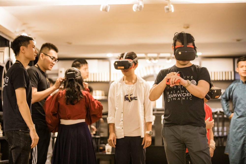 Công nghệ VR3D cho phép người dùng tham quan trong di tích chỉ cần một chiếc kính thực tế ảo VR3D