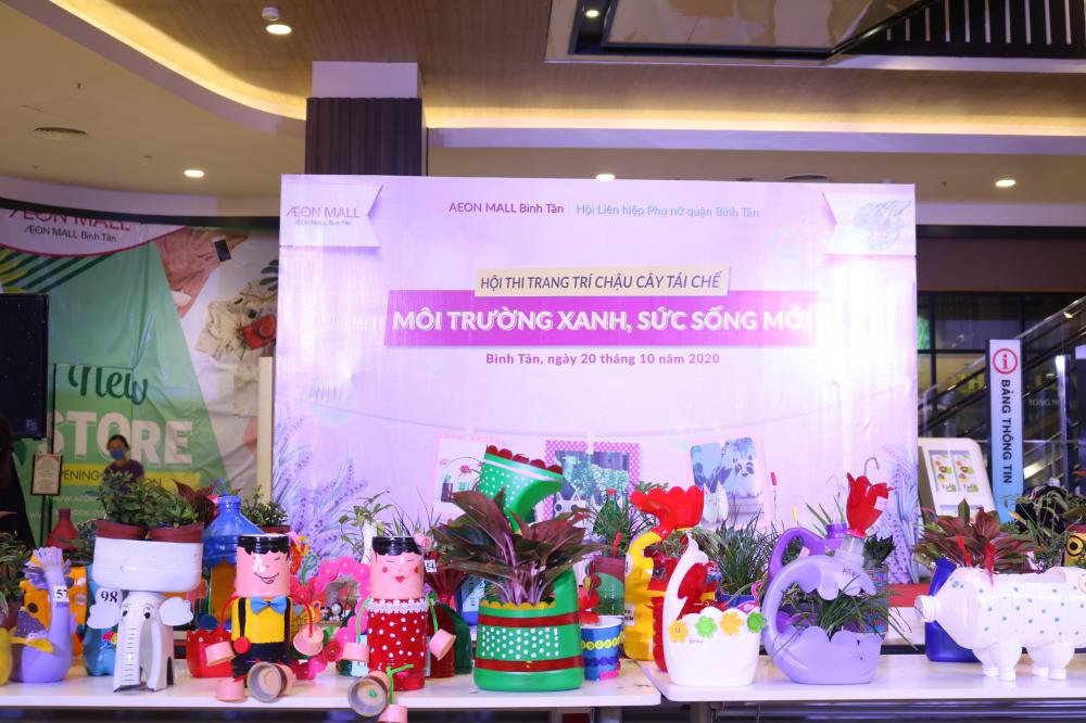 Aeon Mall Bình Tân dành không gian cho chị em trưng bày sản phẩm hướng đến môi trường xanh/