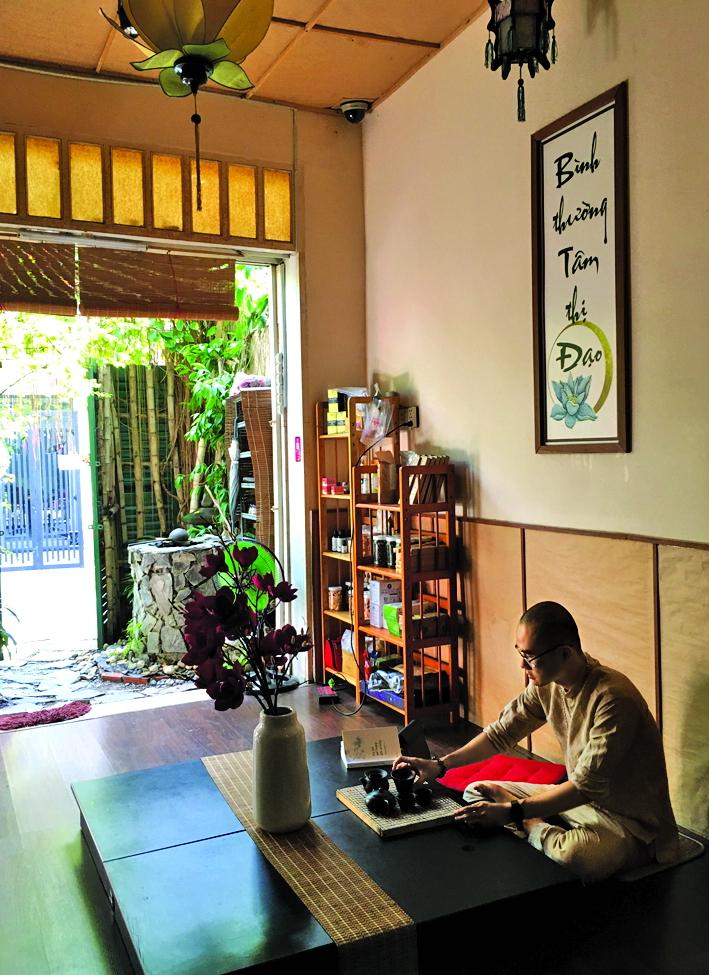 Trò chuyện với Phạm Hoàng Sơn lúc nào cũng cảm nhận được nguồn năng lượng bình an