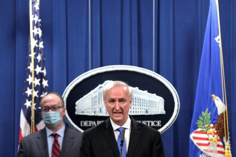 Bộ Tư pháp thông báo hình thức xử lý đối với hãng dược Purdue Pharma - Ảnh: Nytimes