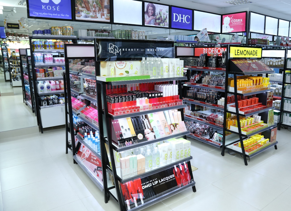 Siêu thị thứ 2 của chuỗi bán lẻ mỹ phẩm AB Beauty World mở cửa đón khách từ thứ 7 tuần này