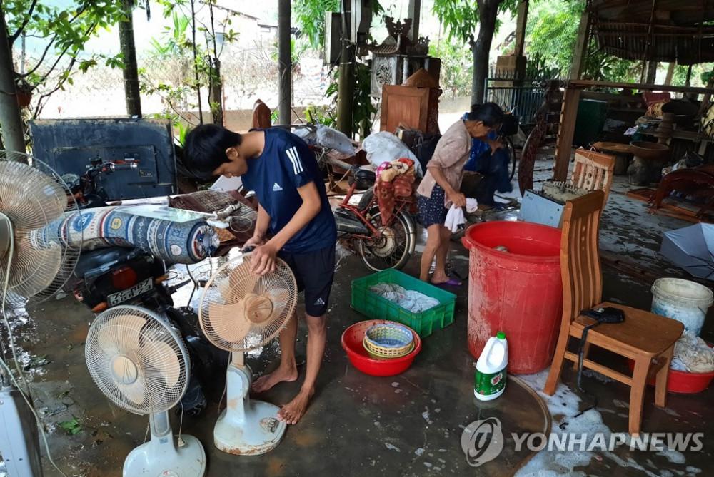 Hàn Quốc viện trợ 300.000 USD cho Việt Nam khắc phục thiệt hại lũ lụt.