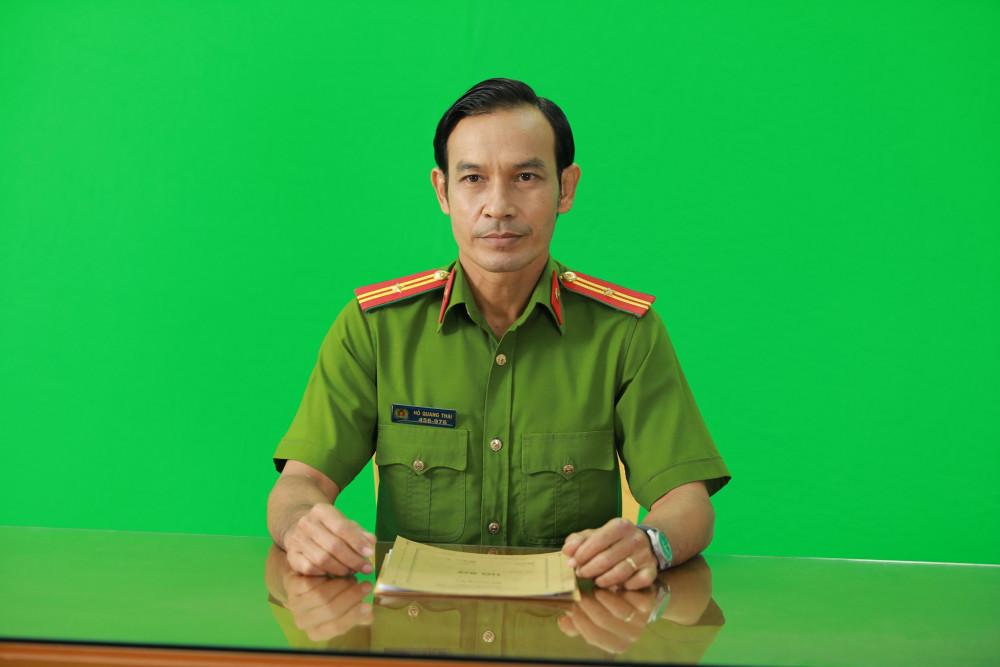 Hình ảnh mới của diễn viên Thạch Kim Long: vai Thiếu tá Hồ Quang Thái