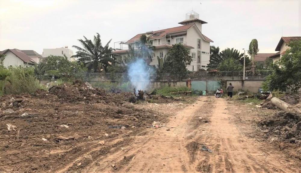 Theo bà Châu, hiện khu đất của bà đang ở phường Thảo Điền, quận 2 đang được đánh gia bèo bọt