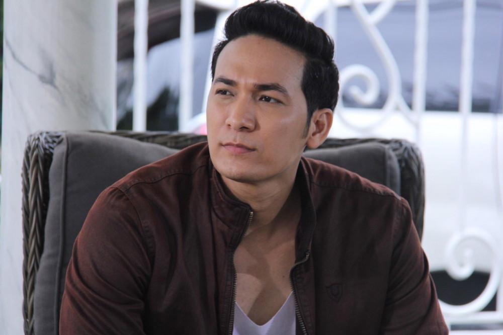 Diễn viên Huỳnh Trường Thịnh vai thượng úy Luân trong phim