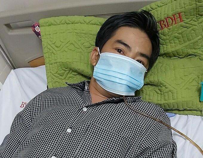 Bệnh nhân được truyền dịch, đặt ống thông dạ dày, các triệu chứng đỡ dần.
