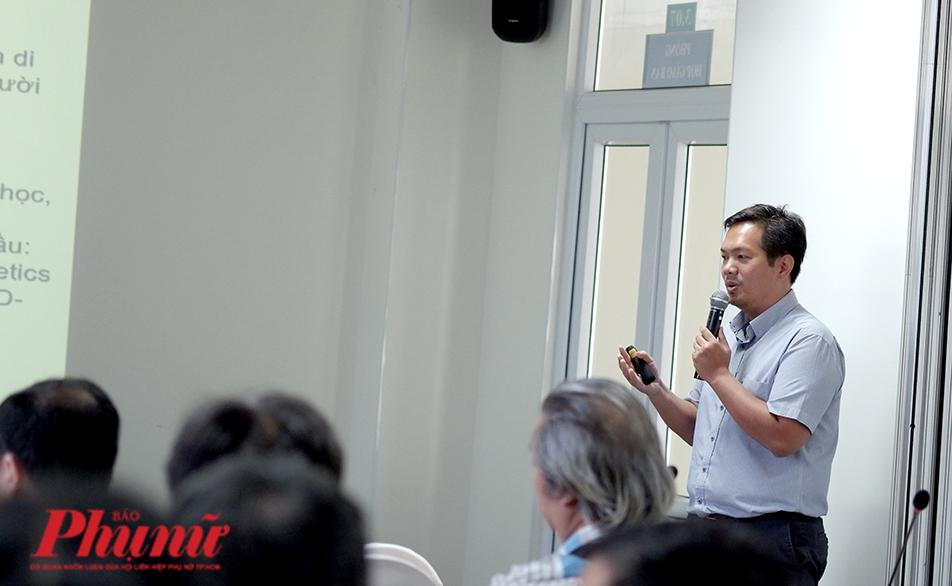 TS. Nguyễn Hoài Nghĩa (chuyên ngành di truyền phân tử),  chủ nhiệm đề tài nghiên cứu gen người Việt bị bệnh COVID-19