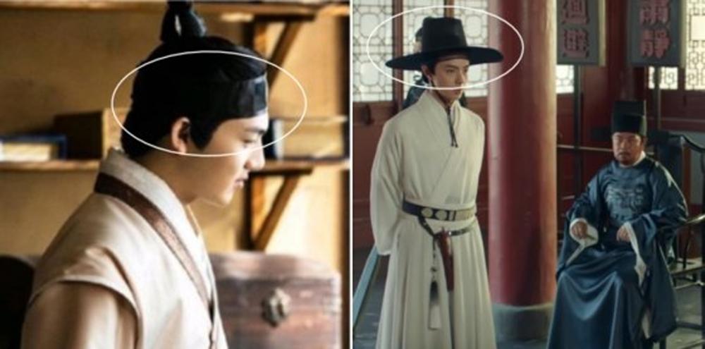 Nón và trang phục tương tự Hanbok của Hàn xuất hiện nhan nhãn trong các bộ phim Trung Quốc.