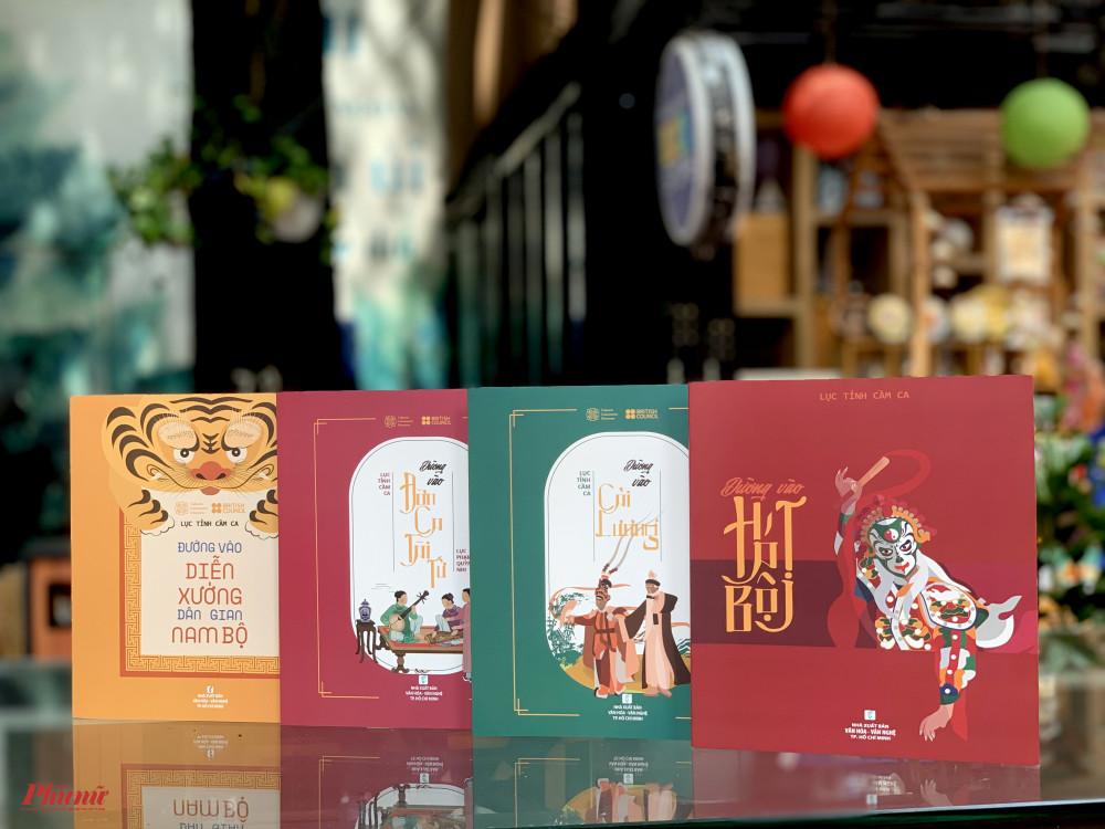 Bộ 4 cuốn thuộc bộ sách Lục tỉnh cầm ca vừa ra mắt.