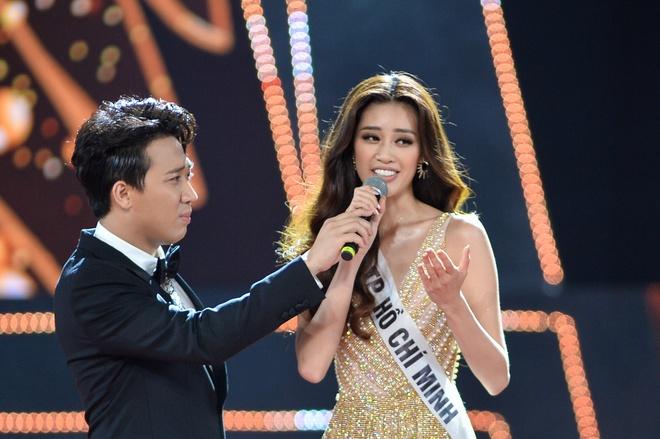 Khánh Vân trong vòng thi ứng xử của Hoa hậu Hoàn vũ Việt Nam 2019