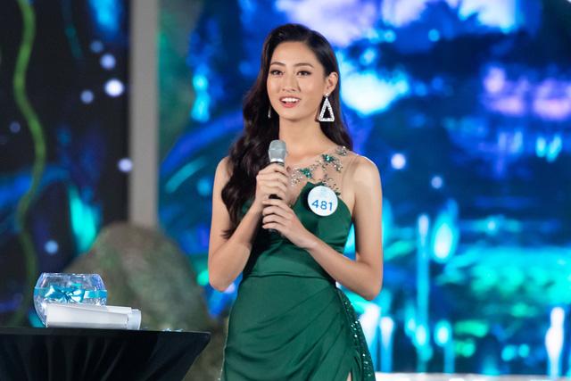 Lương Thuỳ Linh trả lời ứng xử tại đêm chung kết Hoa hậu Thế giới Việt Nam 2019