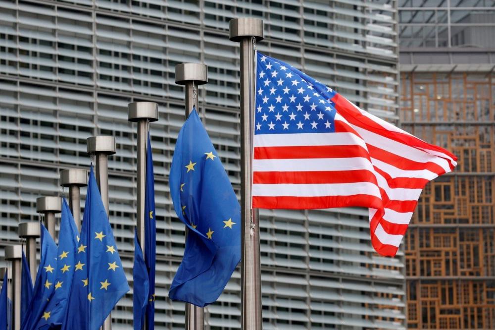 Lời kêu gọi thành lập mặt trận chung được đưa ra sau khi Mỹ và châu Âu khởi động diễn đàn về các vấn đề liên quan đến Trung Quốc - Ảnh: Reuters
